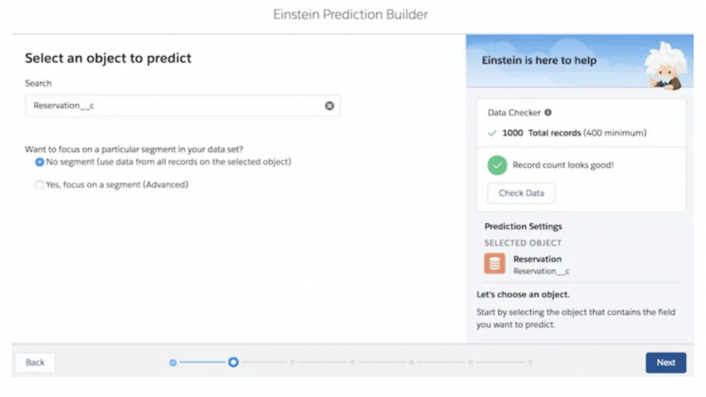 Prediction Builder Screen
